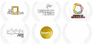 Awarded by Tech Music Pitch, Rethink Music, Midemlab, DPBB, Society3 and Kultur und Kreativpiloten